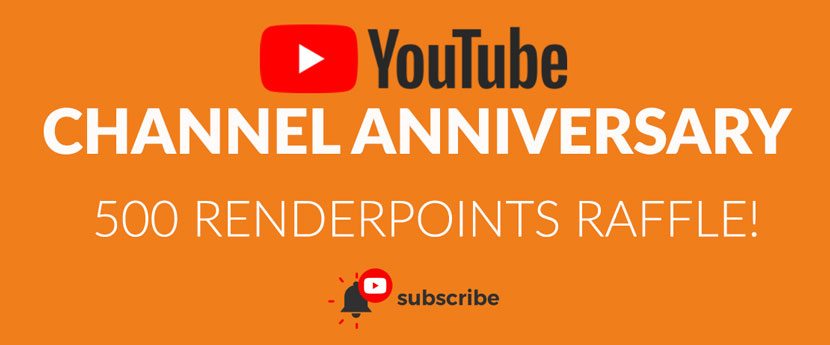 YouTube Channel Anniversary Raffle